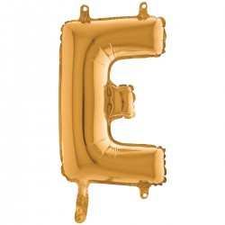 "Lettre ""E"" 35 cm gold"