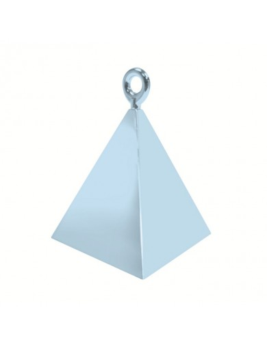 Poids Pyramide bleu pastel