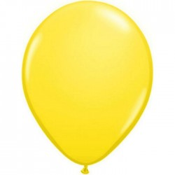 Ballon latex standard Jaune