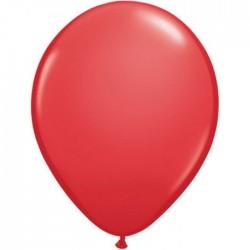 Ballon latex standard Rouge