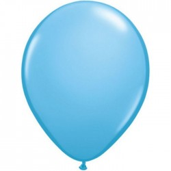 Ballon latex standard Bleu pâle