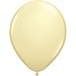Ballon latex fashion Ivory Silk