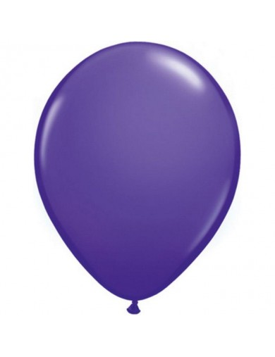 Ballon latex fashion Purple Violet