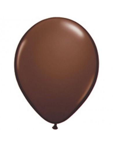 Ballon latex fashion Chocolat Brown