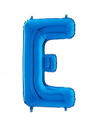 "Lettre ""E"" 66 cm Bleu"