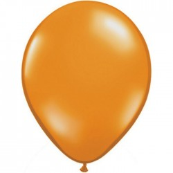 Ballon latex Mandarin Orange