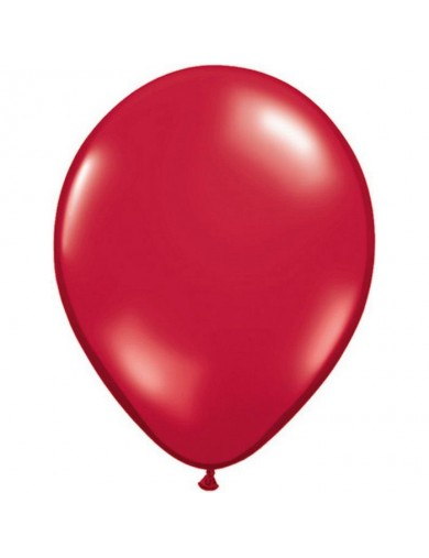 Ballon latex Ruby Red