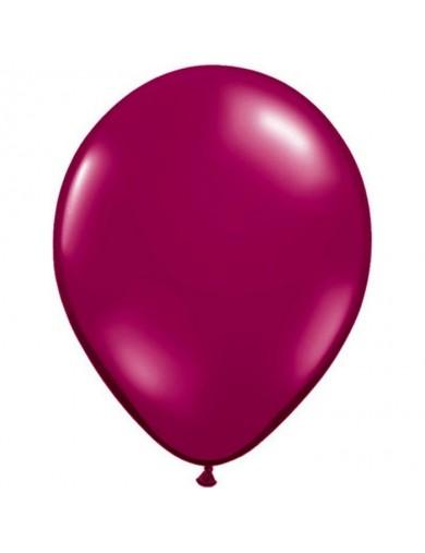 Ballon latex Sparkling Burgundy