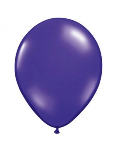 Ballon latex Quartz Purple