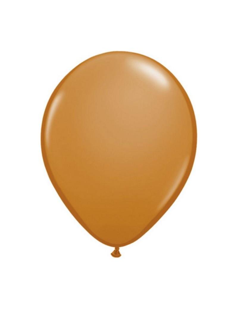 Ballon latex fashion Mocha Brown