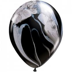 Ballon Black & White super Agate