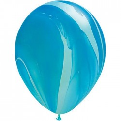 Ballon Blue Rainbow super Agate