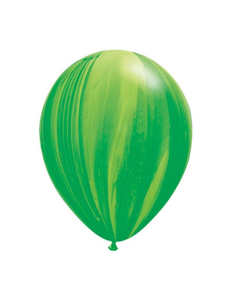 Ballon Green Rainbow super Agate