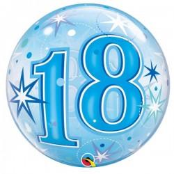 """""""18"""" Bleu Etoiles"""