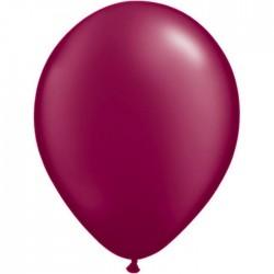 Ballon Perlé Burgundy