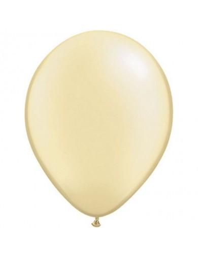 Ballon perlé Ivory