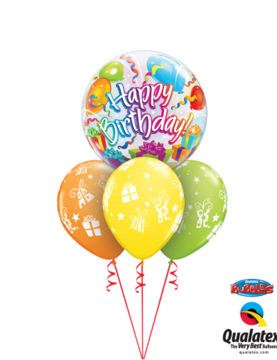Happy Birthday Surprise Bunch