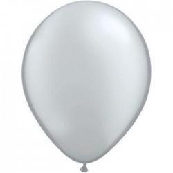 Ballon perlé Silver