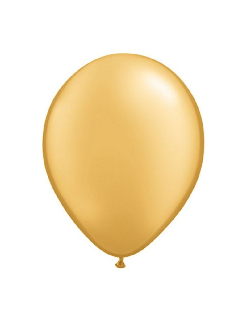 Ballon perlé Gold