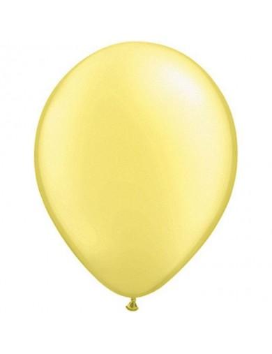 Ballon perlé Lemon Chiffon