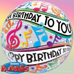 Happy Birthday Notes de Musique