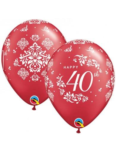 Anniversaire mariage 40 ans