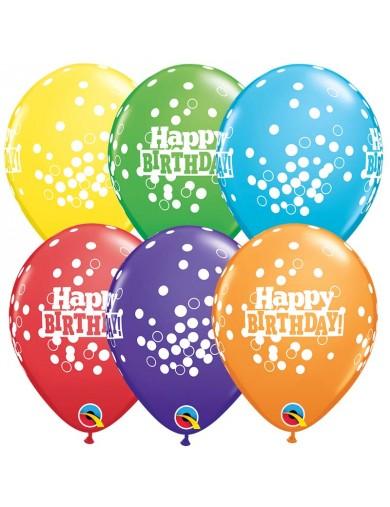 Happy Birthday Confetti Dots