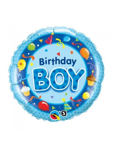 Birthday Boy Bleu