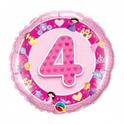 Age 4 Ans Rose