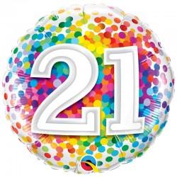Age 21 Ans Confetti
