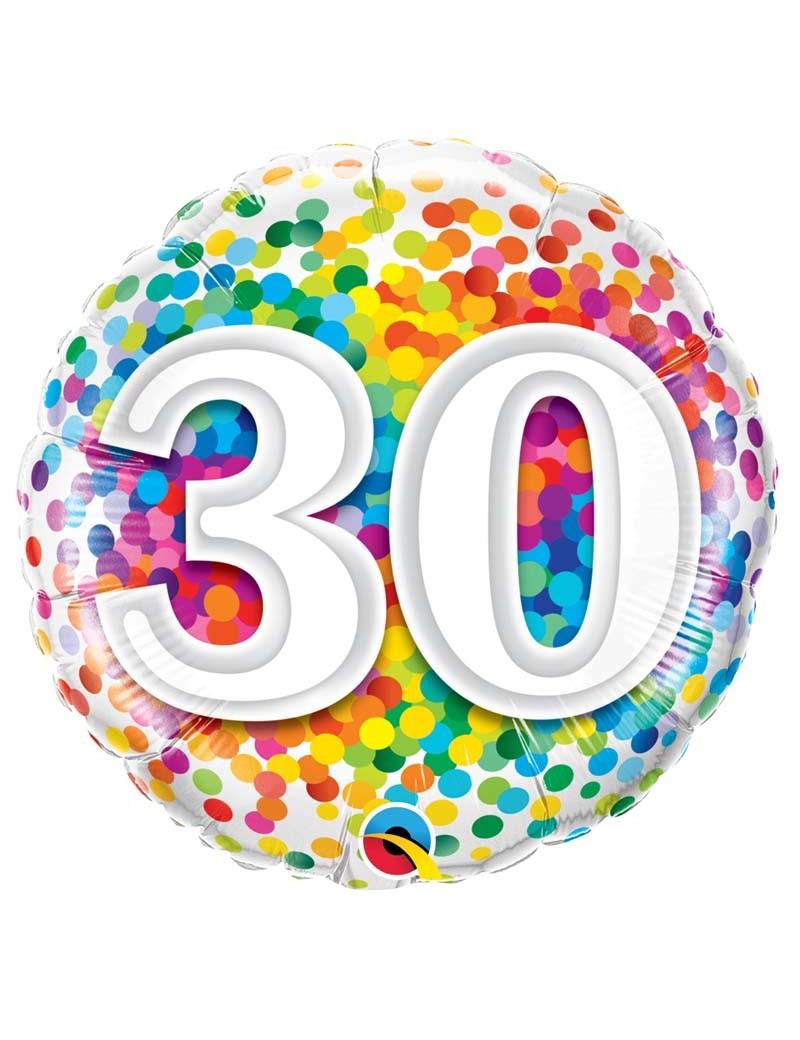 Age 30 Ans Confetti
