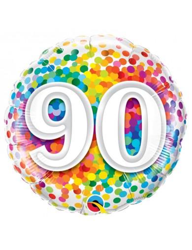 Age 90 Ans Confetti