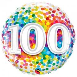 Age 100 Ans Confetti