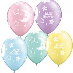 Baby shower étoiles et lunes