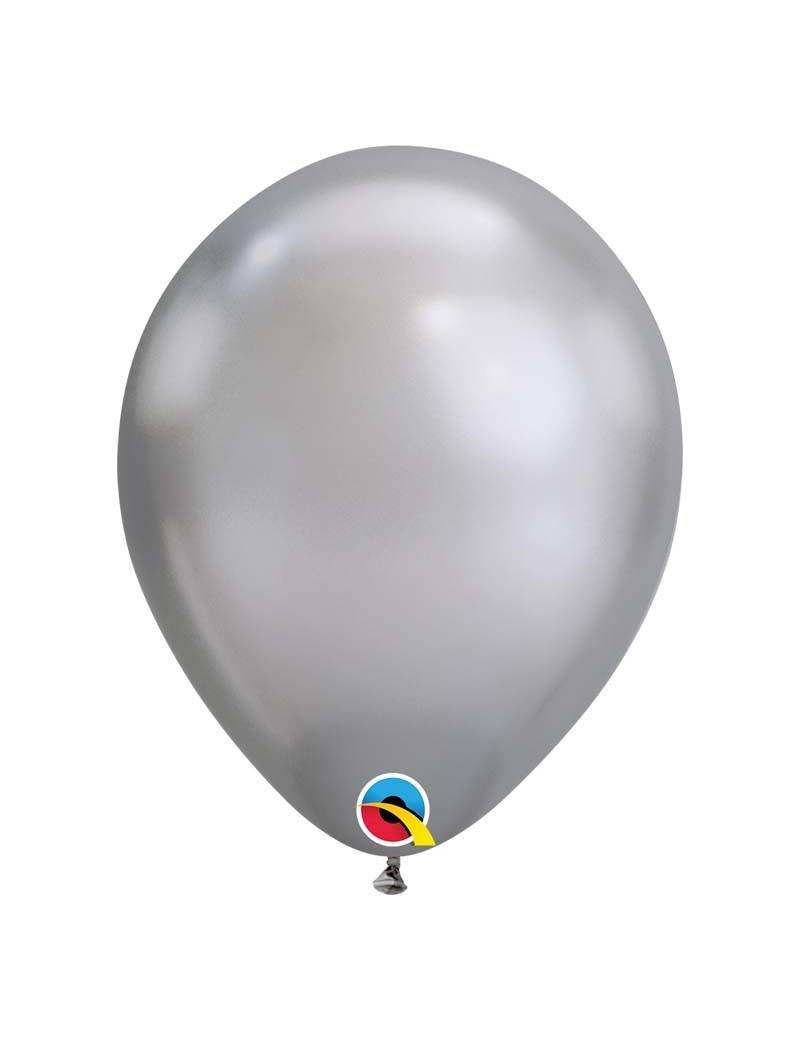 Ballon chrome Silver