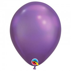 Ballon chrome Purple