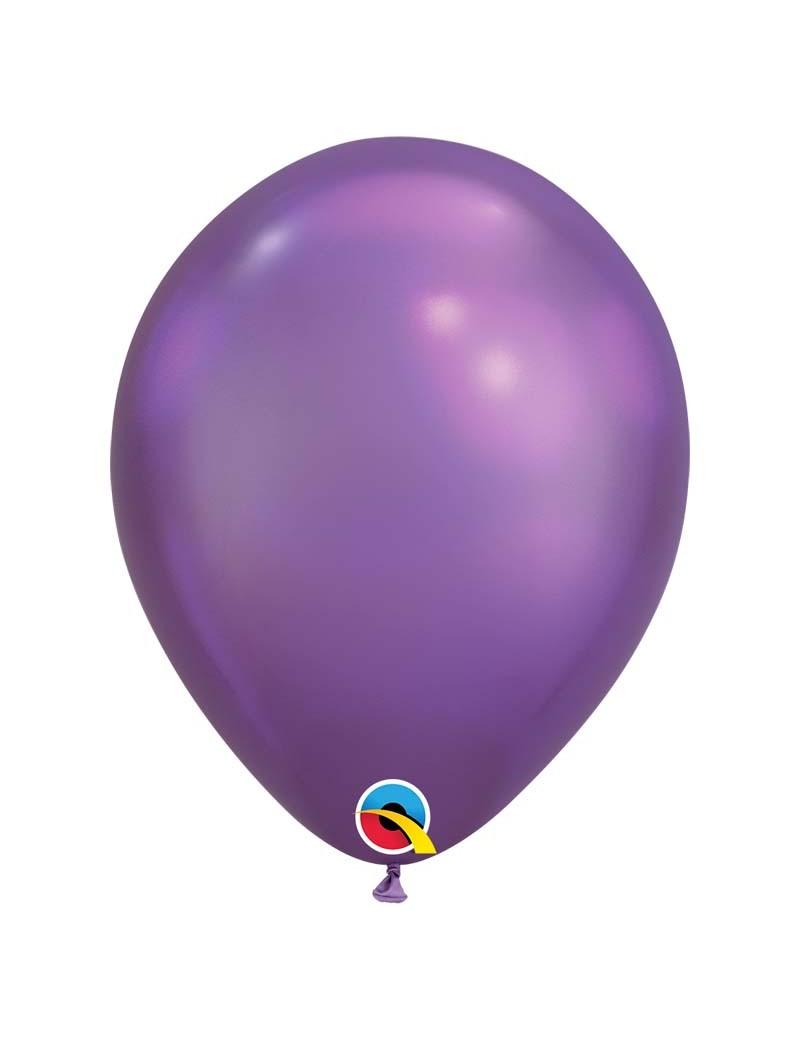 Ballon chrome Purple