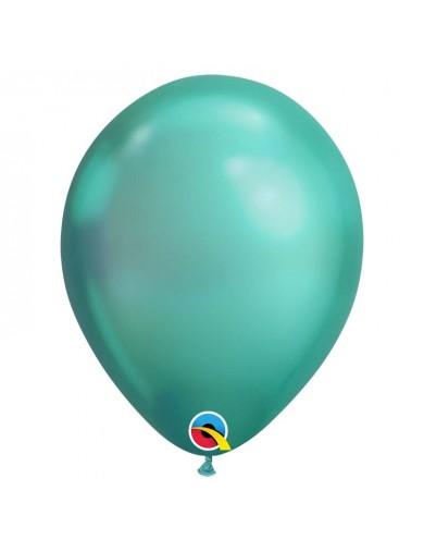 Ballon chrome Vert