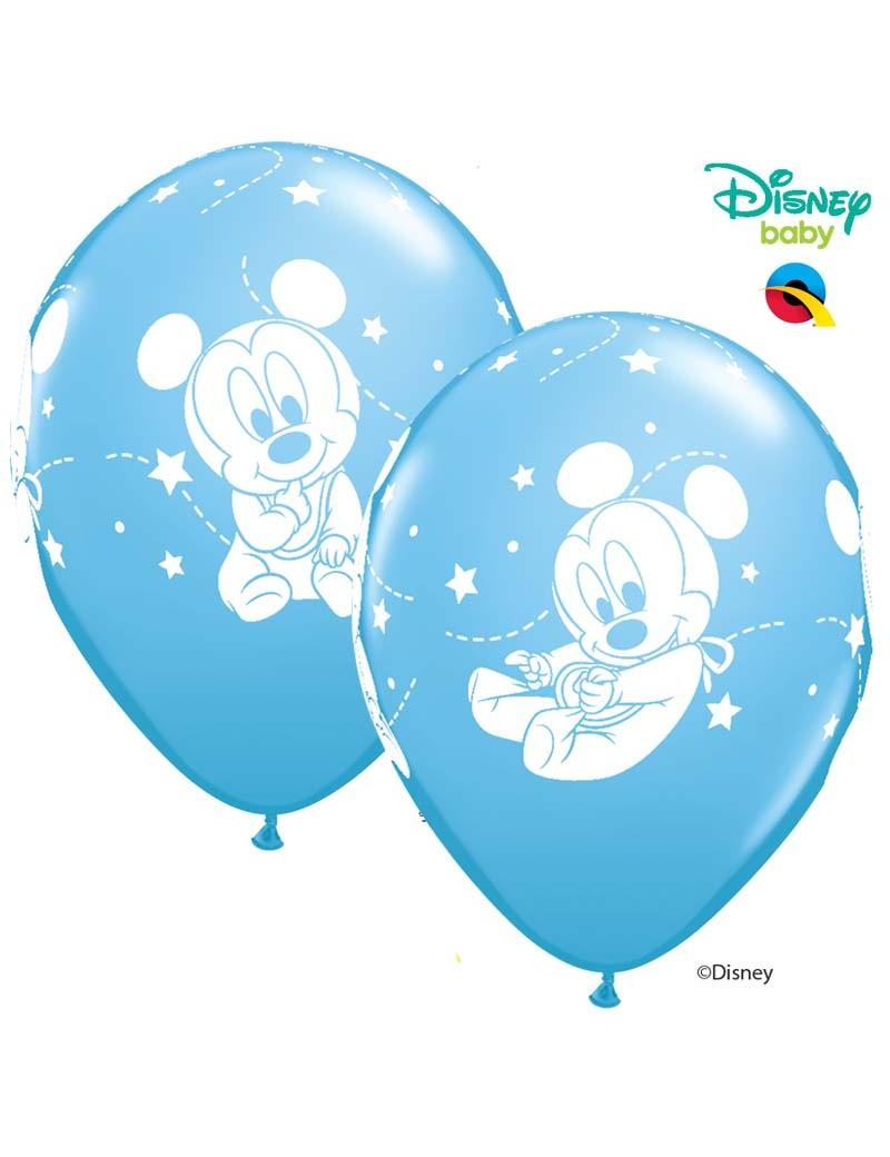 Baby Mickey bleu pâle