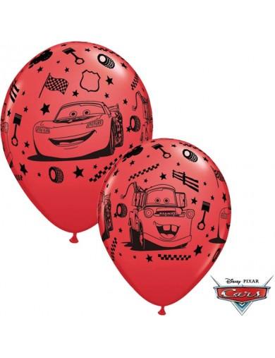Cars et Flash McQueen rouge