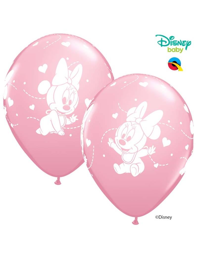 Baby Minnie rose pâle