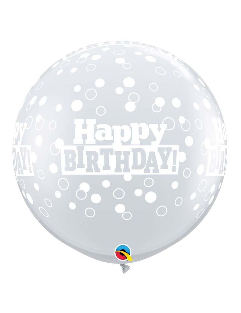 Happy birthday transparent pois