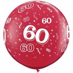 60 ans rouge
