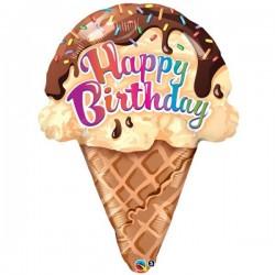 Happy Birthday Cornet de Glace