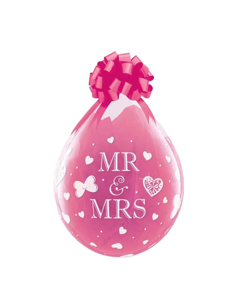 Ballon Cadeau Mr & Mrs