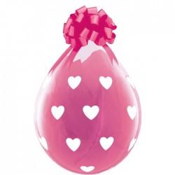 Ballon Cadeau gros coeurs