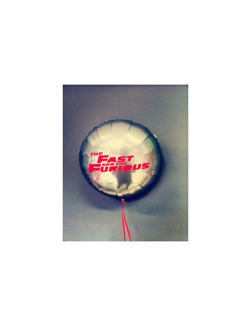 Ballon personnalisé Fast and Furious