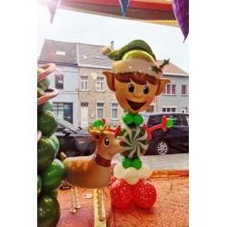 Montage Noël Elf et Renne