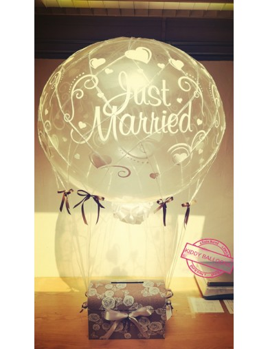Montgolfière Just Married