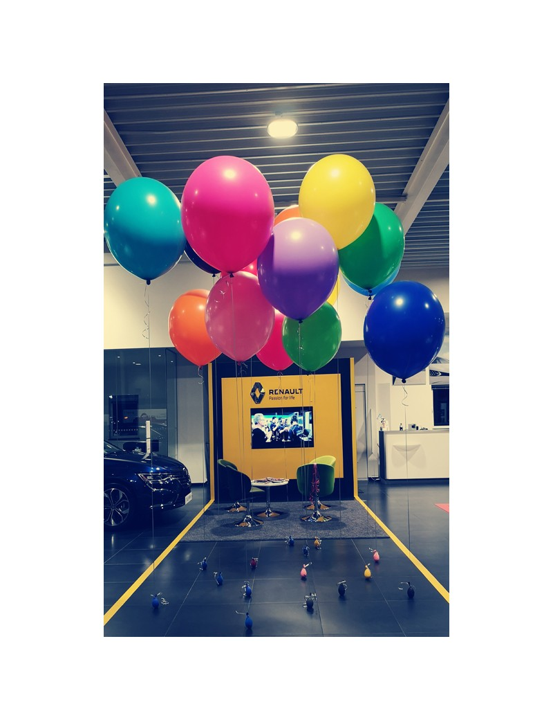 Ballons  géants Renault